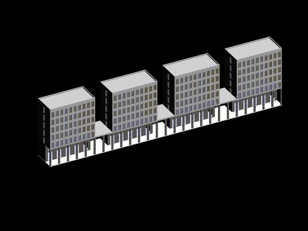 Colaboración proyecto residencial,Genova