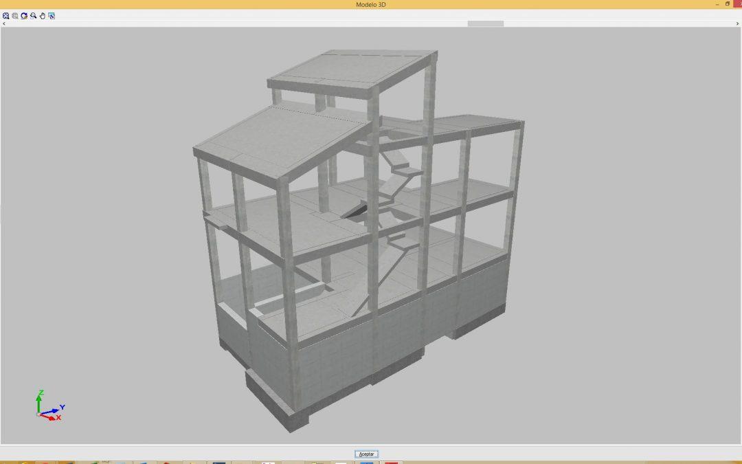 Estructura vivienda unifamiliar Priego de Cordoba