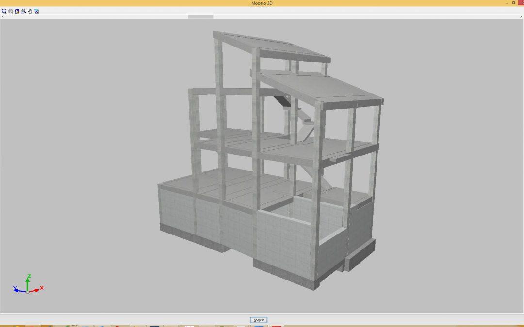Estructura vivienda unifamiliar Priego de Cordoba (2)