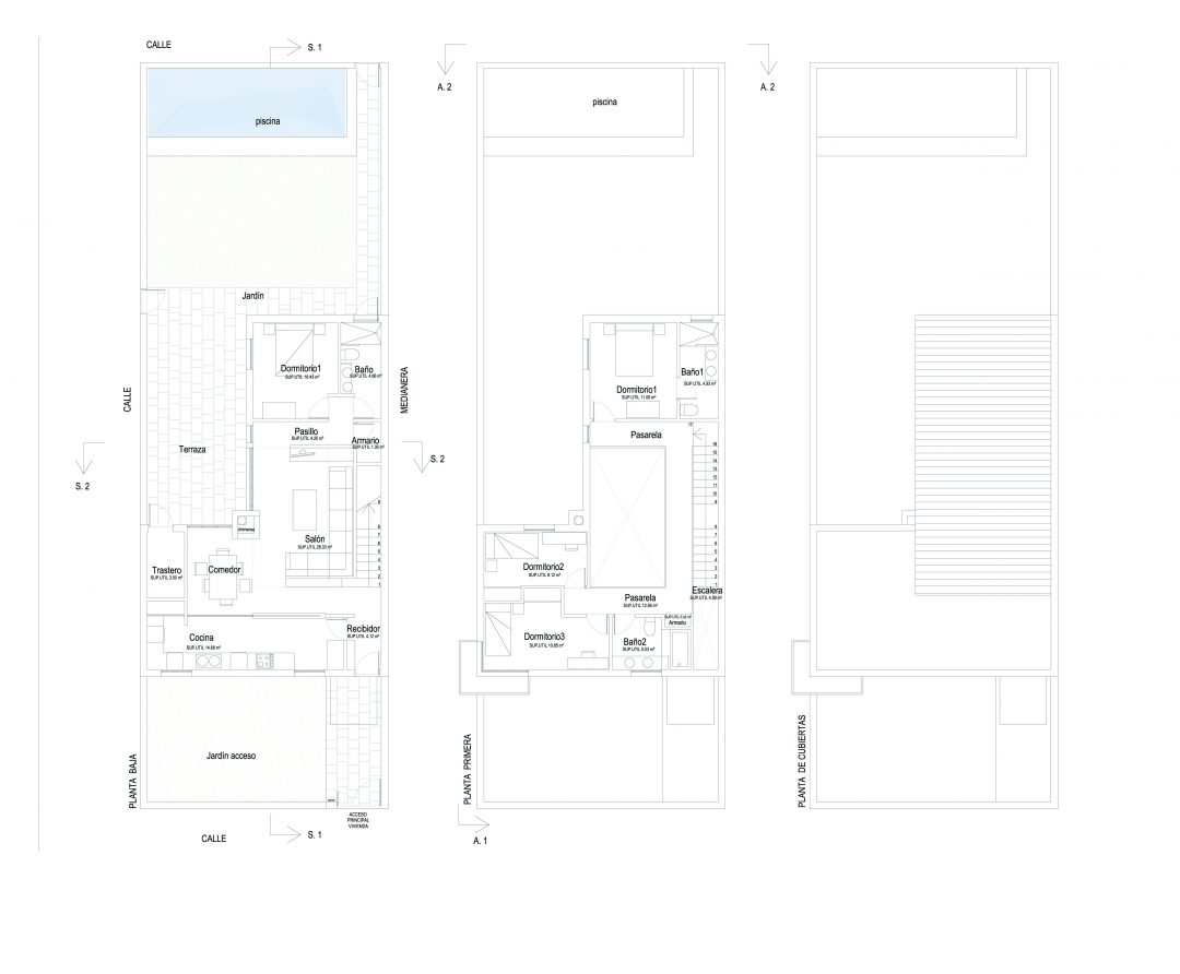 Proyecto apartamento reforma en Granada
