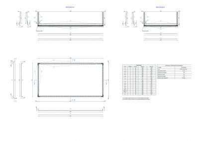 Proyecto de piscina en Bedar, calculo estructura