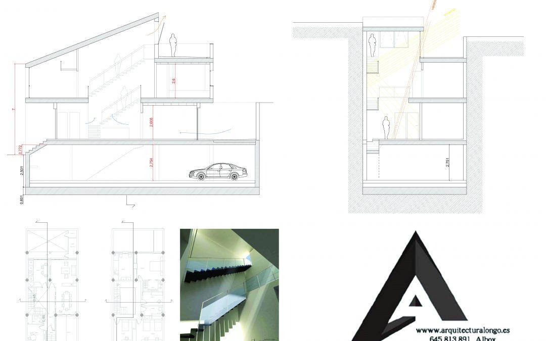 Proyecto vivenda nueva, sección, Córdoba