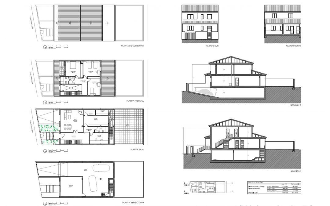 Proyecto vivienda nueva en Granada
