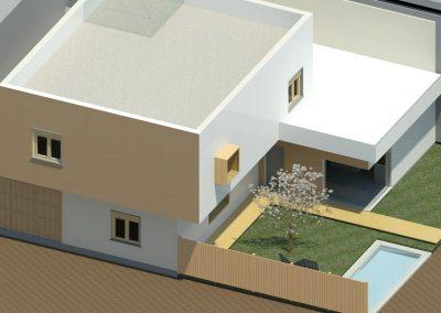 Render inicial vivienda unifamiliar Albox
